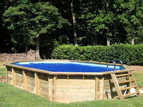 galerie photos de piscines en bois hors sol piscines en. Black Bedroom Furniture Sets. Home Design Ideas