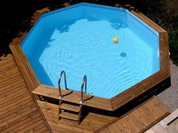 Piscines en for Piscines semi enterrees